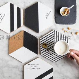 如何选择隔热软木杯套的材质陶瓷产品配套出口
