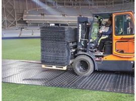工地钢板铺路板抗压铺路板复合材料