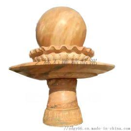 大理石喷泉风水球石雕室内外喷泉流水摆件