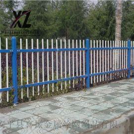 工地围墙护栏栅栏@围墙护栏围栏@锌钢防护栏杆