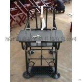 木質審訊椅 鐵質模板審訊桌椅