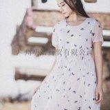 知名服饰阳光里的汀兰品牌折扣女装剪标尾货