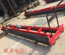 混凝土路面铺装摊铺机 分料式两辊轴带蛟龙整平机