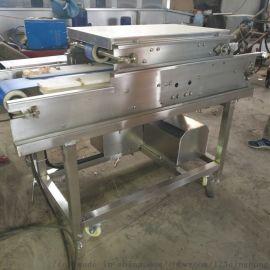 鸡大胸切片机 连续式鲜肉切片机器