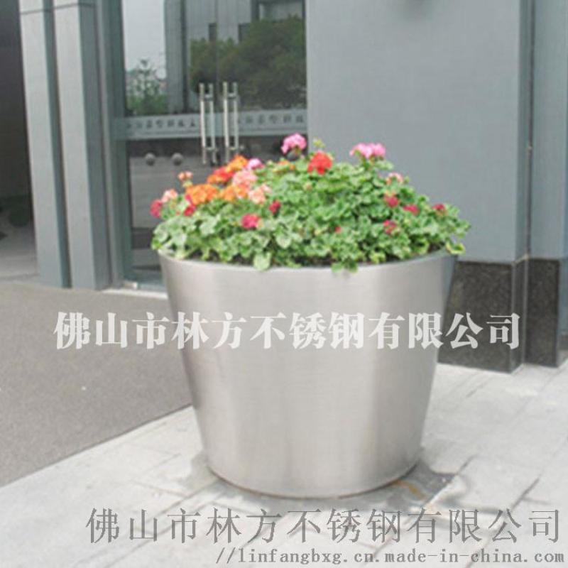 专业中式不锈钢花盆  精致加工花盆 摆设酒店会所专用