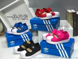 儿童凉鞋学生小孩男女孩子娃凉鞋阿迪耐克凉鞋一件代发
