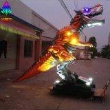 大型玻璃钢人物雕塑现货出售 H350CM电影变形金刚灯光效果机械暴龙