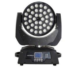 36颗10WRGBW四合一调焦LED摇头染色灯