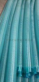 大量供应白色塑筋管PVC透明防腐塑筋软管