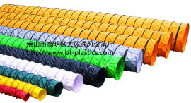 大风牌PVC尼龙布风管、阻燃耐酸碱伸缩管道