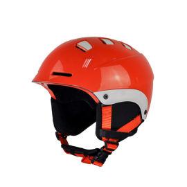 支持定制户外运动头盔单双板男女一体成型滑雪头盔