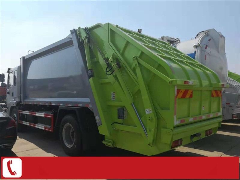 8方挂桶垃圾压缩车介绍 6方后装压缩垃圾车