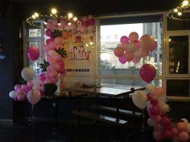 昆明花語花香畢業氣球裝飾商場氣球布置年會氣球裝飾