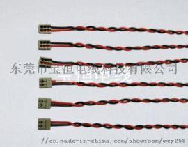 UL3239 22AWG,pvc,镀锡铜,端子连接线