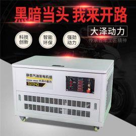 大泽动力TOTO15车载汽油发电机永磁电机