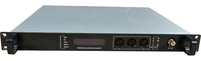 1550nm外调制光发射机,  型(FWT-1550EH-2X8)
