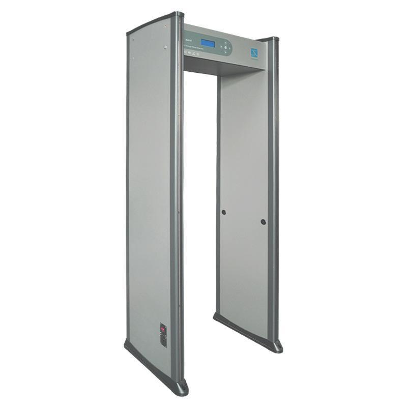 研發生產XLD-E(LCD) 18區數碼金屬探測門 銅金屬探測門碼頭
