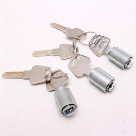 鎖芯 單開葉片鋅合金掛鎖鎖芯 電子鎖備用緊急機械  鎖芯