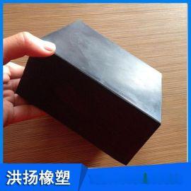 橡胶减震垫块 缓冲橡胶垫 减震弹簧 橡胶防撞块