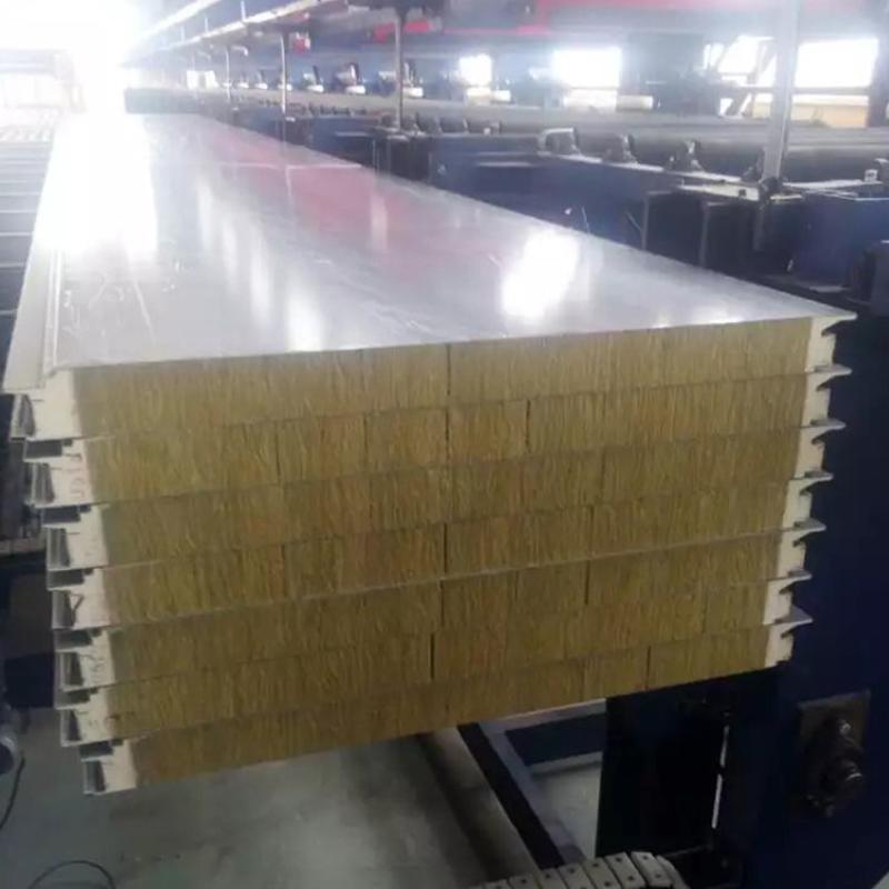 聚氨酯封邊岩棉保溫板岩棉保溫板