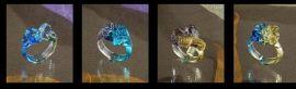 琉璃吊饰工厂,琉璃首饰工厂,晶宝琉璃工厂