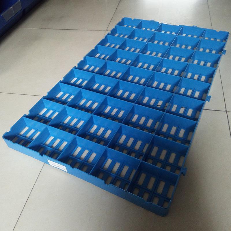 厂家直销 塑胶垫脚板  1000*600*50 防潮板 塑胶托盘 仓储堆放板