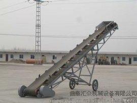 护栏皮带输送机报价,型上坡皮带输送机 带式皮带运输机