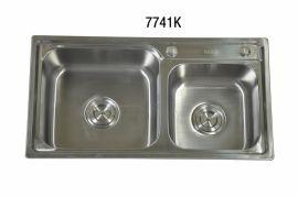 不锈钢菜盆W7741k