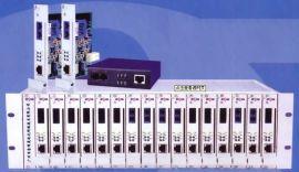 汉信光纤收发器机架