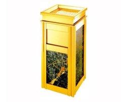 大理石顶投四菱角座地烟灰桶 HC5007 绵阳垃圾桶厂家直供垃圾桶