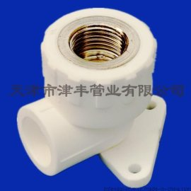 带座弯头 PPR弯头 PPR管件 给水管件 弯头
