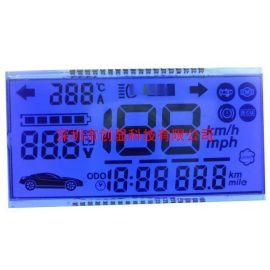 厂家生产电动车仪表用LCD液晶显示屏