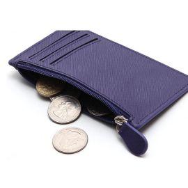 上海定做韩国零钱包 仿皮十字纹零钱包