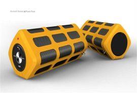 自行车便携式蓝牙音箱 手机应急充电宝 户外运动型