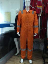 优亿制服 厂家订做 阻燃防静电连体防护服