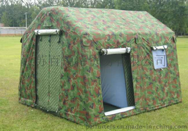 厂家定做充气式帐篷 牛津布框架式充气帐篷 整体式充气帐篷   充气帐篷