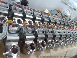 广西鸿阀HFawD981X-10电动卫生级蝶阀江门中山气动球阀广州电动卫生级球阀批发