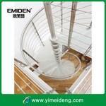 厂家供应YMD-2031款玻璃踏板旋转楼梯/现代式旋转楼梯/深圳楼梯