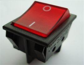 SS31红色带灯翘板式电源开关