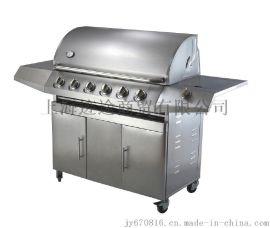 酒店度假春酒吧用大型不锈钢户外燃气烧烤炉