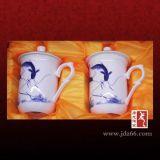 定做會議茶杯子,陶瓷茶杯訂做,酒店會議室水杯,陶瓷茶具