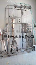 高真空不锈钢精馏塔,药物分离精馏塔,实验室精馏塔