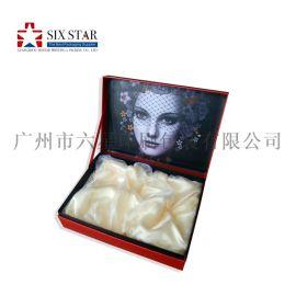 厂家直销定制化妆品包装套盒手挽袋