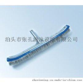 张孔游泳 zk1106 18寸铝背钢丝刷