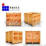 胶合板木箱大型设备包装专用 免费测量尺寸现场组装