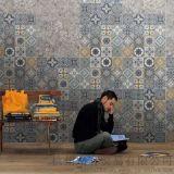 廣東 客廳拼花餐廳牆西班牙室內地磚地中海仿古磚(包括文化石)