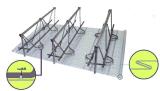 厂家供应第三代钢筋桁架楼承板TD4-120型