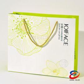 厂家定制纸袋印刷可设计 手提袋手挽袋 方底自定义logo 单铜双铜