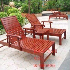 户外沙滩椅 园林木质沙滩椅 采购批发沙滩椅