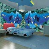 酒店客房主题壁纸 KTV背景墙3D壁画 卧室艺术墙纸